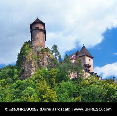 Věže Oravského hradu