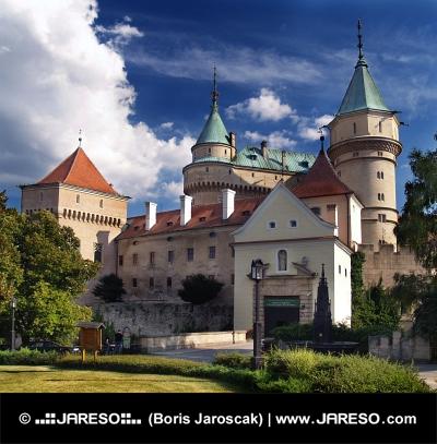Vstup do Bojnického zámku