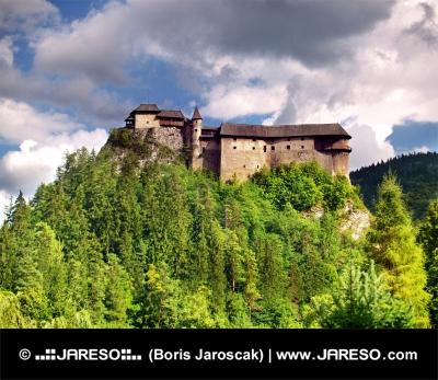 Nejstarší část Oravského hradu