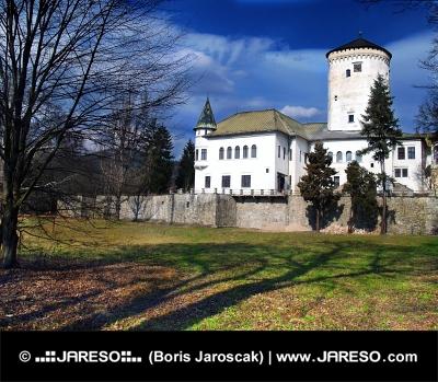 Budatínský hrad u Žiliny na Slovensku