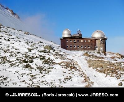 Hvězdárna na Skalnatém Plese ve Vysokých Tatrách