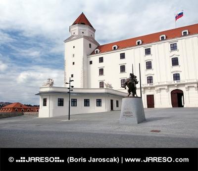 Nádvoří na Bratislavském hradě, Slovensko