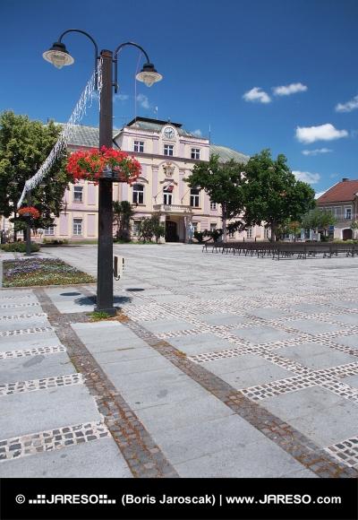 Starodávná radnice v Liptovském Mikuláši