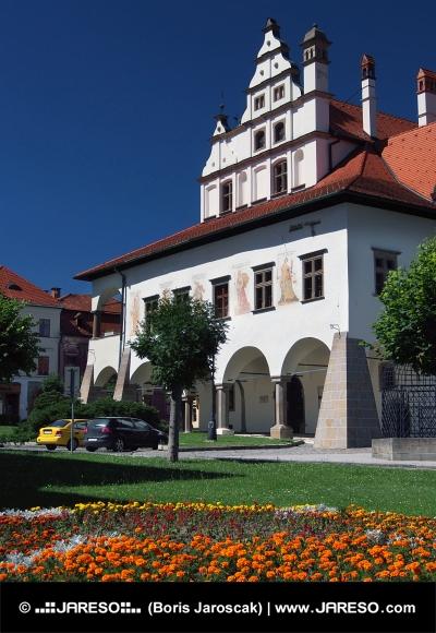 Unikátní radnice v Levoči