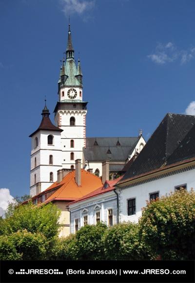 Kostel svaté Kateřiny a Kremnický hrad