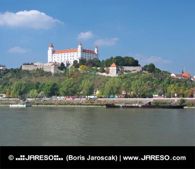 Dunaj a Bratislavský hrad