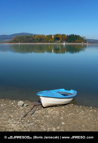 Loď a Slanický ostrov, Slovensko
