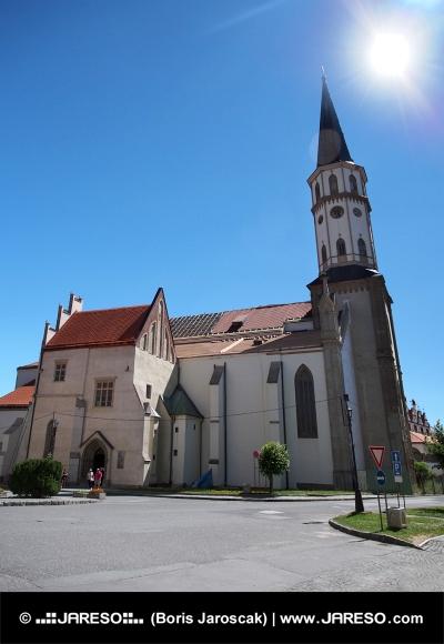 Kostel svatého Jakuba v Levoči