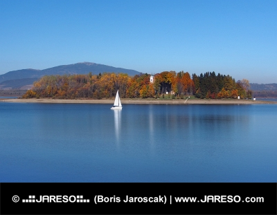 Jachta a Slanický ostrov, Slovensko