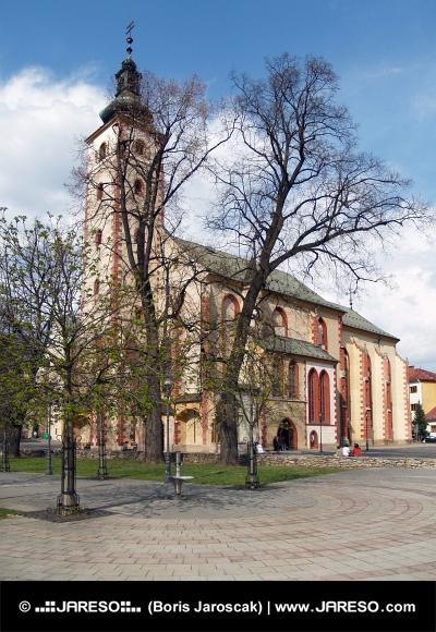 Historický kostel Nanebevzetí Panny Marie v Banské Bystrici