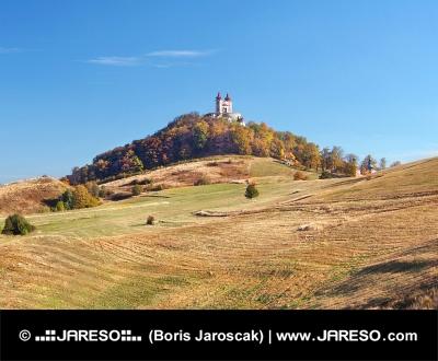 Kalvárie ve městě Banská Štiavnica na Slovensku