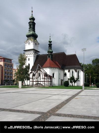 Kostel Svaté Alžběty ve Zvolenu na středním Slovensku