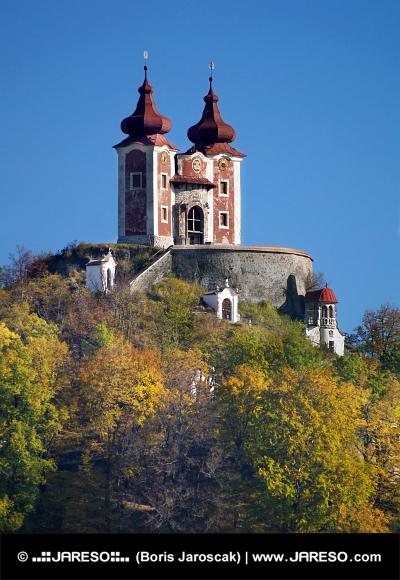 Kalvárie na kopci Ostrý vrch, Slovensko