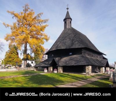Kostel v Tvrdošíně patřící do seznamu UNESCO