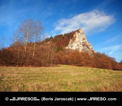 Ostrá Skala, Vyšnokubínske Skalky, Slovensko