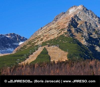 Podzim na Předním Solisko ve Vysokých Tatrách