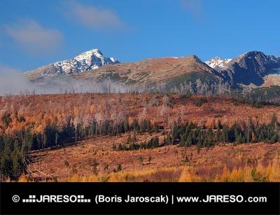 Kriváň ve Vysokých Tatrách na podzim