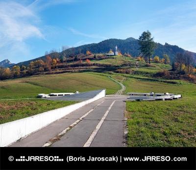 Památník Juraje Jánošíka v obci Terchová na Slovensku