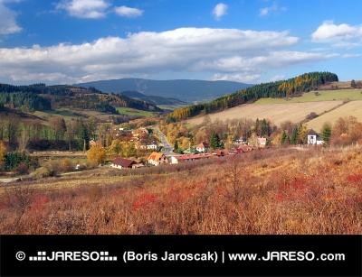 Obec Vyšný Kubín, která je rodištěm P.O. Hviezdoslava