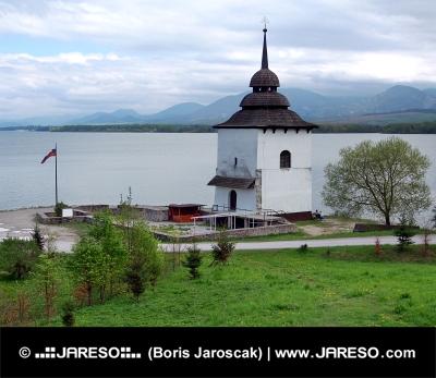 Pozůstatky kostela při Liptovské Mare na Slovensku