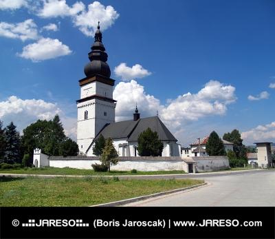 Kostel svatého Matouše v Partizánské Lupči
