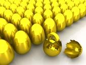 Zlaté vejce a symbol LIBRY