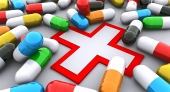 Pilulky a symbol pomoci
