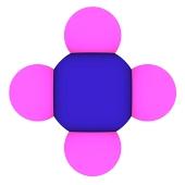 Methan (CH4 Molekula)