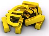 EURO na zlatých cihlách