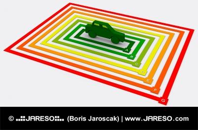 Energeticky efektivní auto