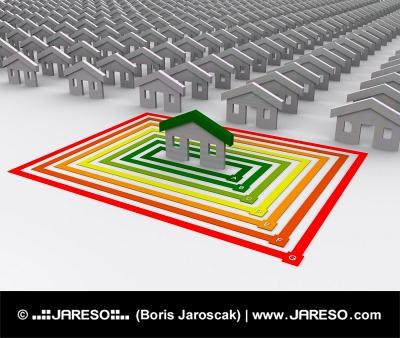 Pouze jedna stavba je energeticky efektivní